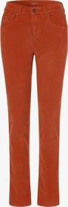 Pomarańczowe jeansy Angels w stylu casual