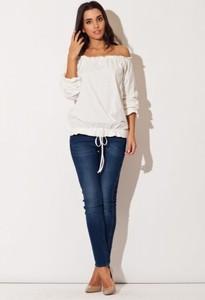 Bluzka Katrus z długim rękawem z bawełny