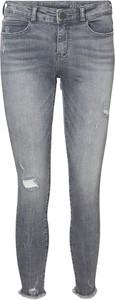 Niebieskie jeansy Emp z jeansu