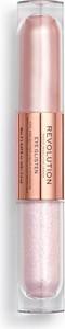 Makeup Revolution, Eye Glisten, dwustronny cień do powiek Adored by You, 1 szt.