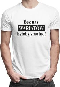 T-shirt Koszulkowy z bawełny