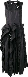 Czarna sukienka Moncler mini