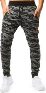 Spodnie sportowe Dstreet z bawełny w militarnym stylu