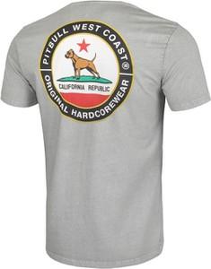 T-shirt Pit Bull w młodzieżowym stylu z tkaniny