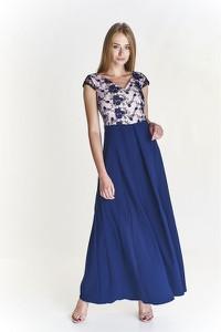 Sukienka Vegas oversize bez rękawów z dekoltem w kształcie litery v