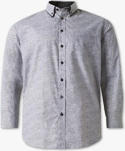 Koszula CANDA z bawełny z kołnierzykiem button down