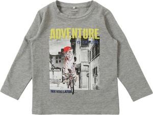 Koszulka dziecięca Name it z bawełny z długim rękawem