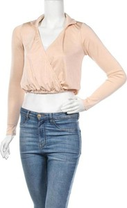 Bluzka Asos z długim rękawem w stylu casual