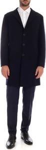 Niebieski płaszcz męski Eleventy