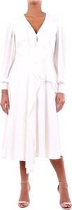 Sukienka Alexander McQueen z długim rękawem