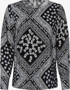 Bluzka Soyaconcept z długim rękawem z dekoltem w kształcie litery v