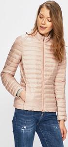 Różowa kurtka Geox krótka