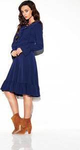 Sukienka TAGLESS rozkloszowana midi w stylu casual