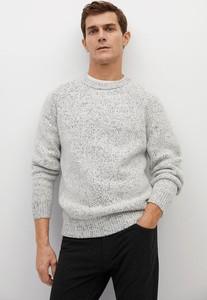 Sweter Mango Man z wełny