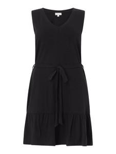 Czarna sukienka Only z dekoltem w kształcie litery v