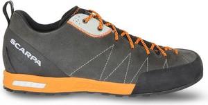 Buty trekkingowe Scarpa sznurowane z zamszu w sportowym stylu