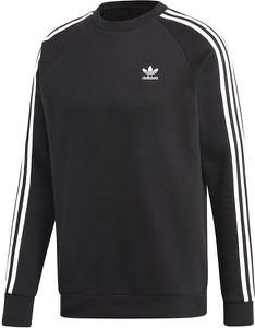 Czarna bluza Adidas Originals z plaru