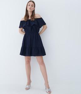 Sukienka Mohito z krótkim rękawem mini hiszpanka