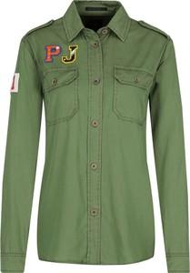 Koszula Pepe Jeans w stylu casual z kołnierzykiem z długim rękawem
