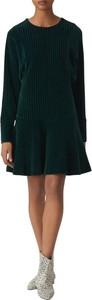 Zielona sukienka Kenzo