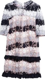 Sukienka Multu mini w stylu casual z okrągłym dekoltem