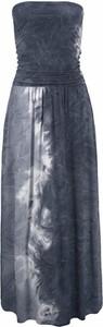 Niebieska sukienka LASCANA
