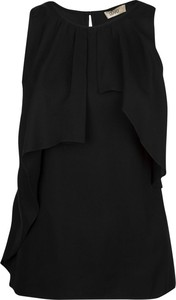 Czarna bluzka Liu-Jo bez rękawów
