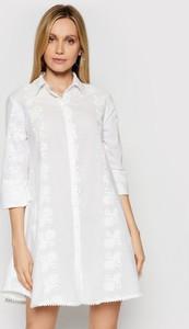 Sukienka Iconique z długim rękawem w stylu casual mini