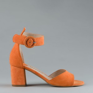 Sandały Maxoni z zamszu