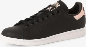 adidas Originals - Damskie tenisówki ze skóry – Stan Smith, czarny