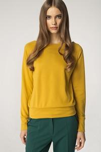 Żółty sweter Merg