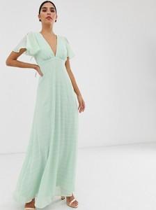 Sukienka Y.A.S z krótkim rękawem