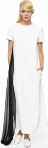 Sukienka ANETA KRĘGLICKA X L'AF z krótkim rękawem