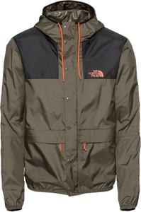 Brązowa kurtka The North Face w stylu casual