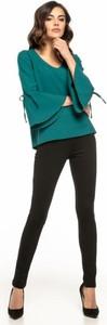 Zielona bluzka Tessita z długim rękawem