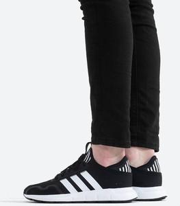 Czarne buty sportowe Adidas Originals z zamszu
