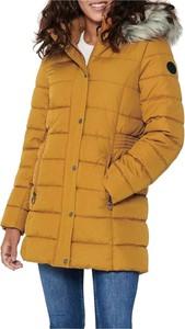 Żółta kurtka Only długa