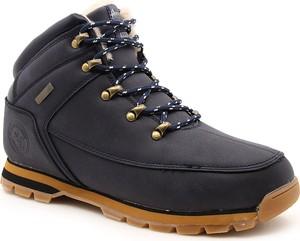 Granatowe buty dziecięce zimowe American Club dla chłopców