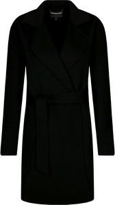 Płaszcz Emporio Armani w stylu casual z kaszmiru