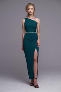 Zielona sukienka Ella Boutique maxi