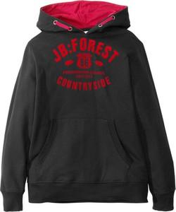 Czarna bluza dziecięca bonprix bpc bonprix collection