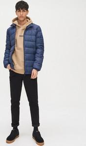 Niebieska kurtka Cropp w stylu casual