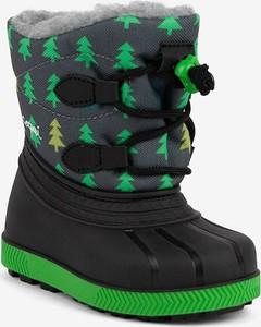 Buty dziecięce zimowe Coqui sznurowane