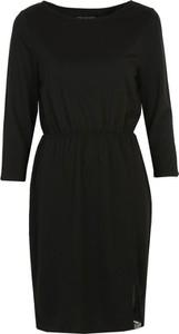 Sukienka Top Secret mini z okrągłym dekoltem z długim rękawem