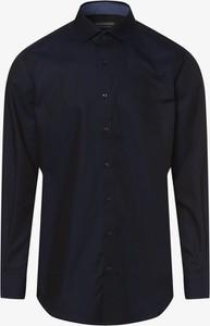 Niebieska koszula Finshley & Harding z bawełny