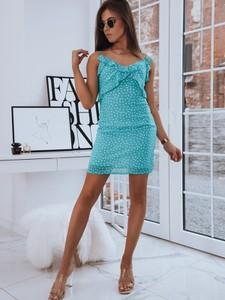Sukienka Dstreet dopasowana na ramiączkach mini
