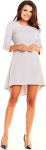 Sukienka Awama asymetryczna mini