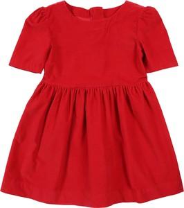 Czerwona sukienka dziewczęca Gap