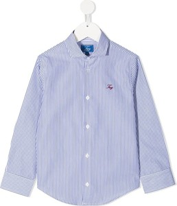 Niebieska koszula dziecięca Fay