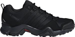 Czarne buty trekkingowe Adidas Performance sznurowane